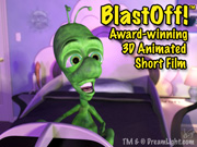 Click to view DreamLight's first award-winning CGI short film — BlastOff!™