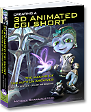 Click for more information about Michael Scaramozzino's new book: Creating a 3D Animated CGI Short; The Making of The Autiton Archives™ Fault Effect™ — Pilot Webisode.
