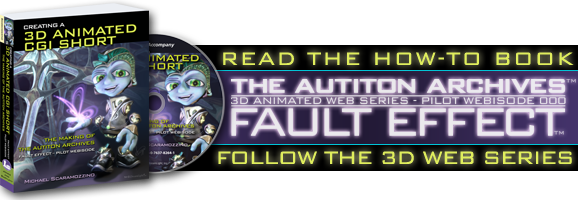 Follow The Autiton Archives 3D Animated Web Series - Pilot Webisode 000 - Fault Effect