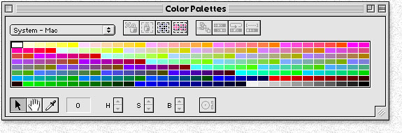 Typical Color Table