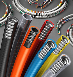 3D Product Illustration of Flexible Cables