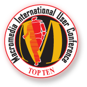Top Ten Award - Macromedia International User Conference