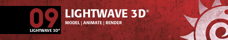 LightWave 3D 09 Header