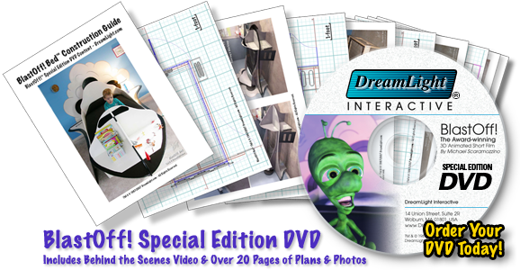 BlastOff! Special Edition DVD - Includes Behind the Scenes Videos & Over 20 Pages of Plans & Photos