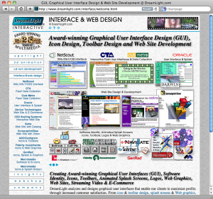 DreamLight's Previous 2nd Generation Static HTML Website