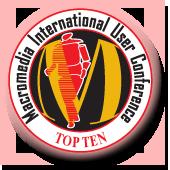Top Ten Award - Macromedia International User Conference
